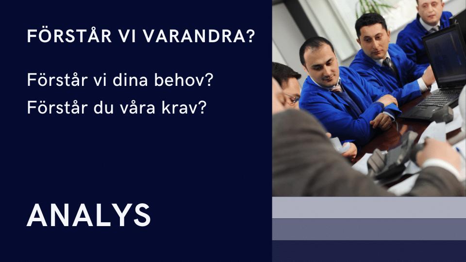 Analys!